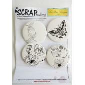 collection badge LPF et scrapbutton